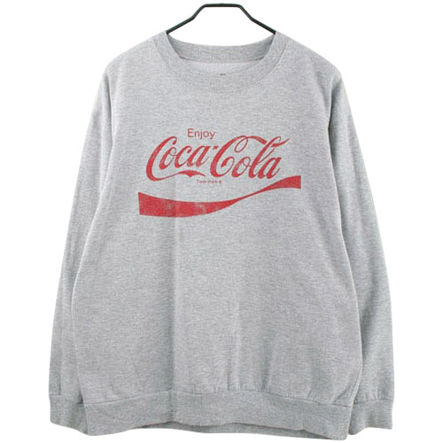 COCACOLA 코카콜라 맨투맨 티셔츠 SIZE 103 루스, ROOS