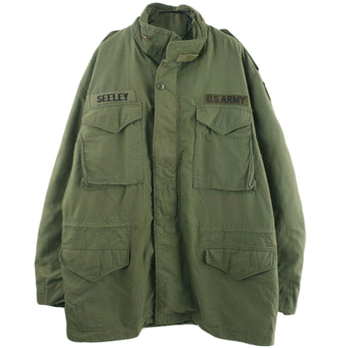 70'S ALPHA M-65 FIELD JACKET LARGE/LONG  알파 M-65 필드자켓 SIZE 105 루스, ROOS