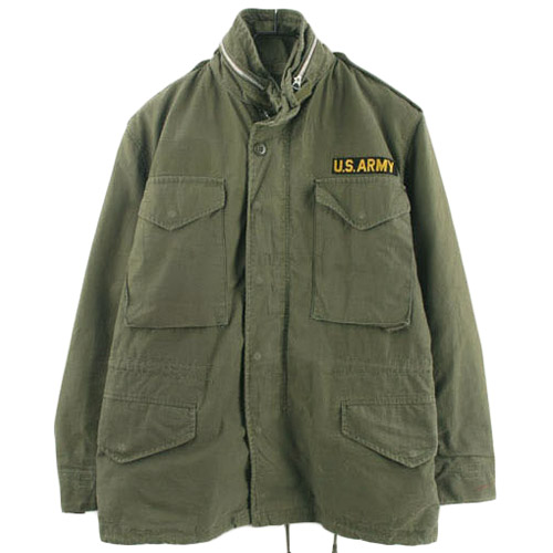 60'S ORIGINAL USA M-65 FIELD JACKET  SMALL/SHORT  미군 2ND M-65 필드자켓 SIZE 95 루스, ROOS